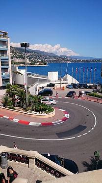 F1 curve, Monaco
