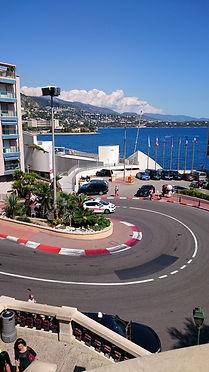 Curva F1, Monaco