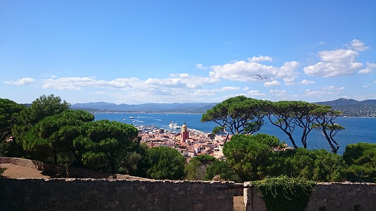 Saint-Tropez fortress, France