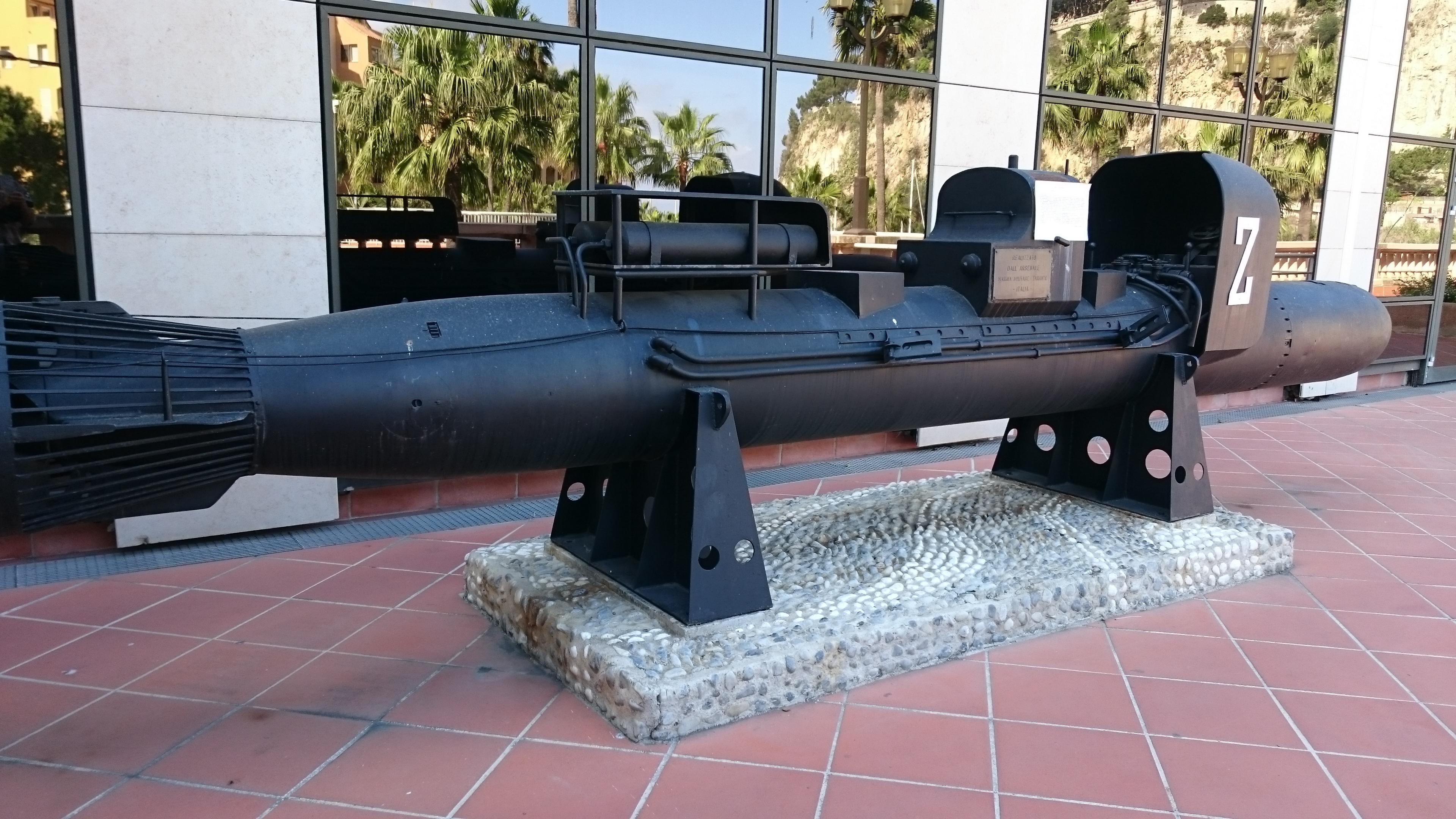 Submarino italiano, Museo Naval