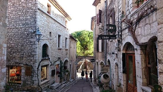 Rue Grande, St. Paul de Vence, Francia