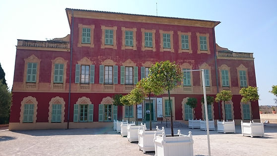 Museo de Matisse, Cimiez, Niza, Francia