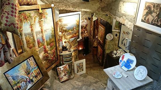 Подземная галерея, Сен-Поль-де-Ванс, Франция