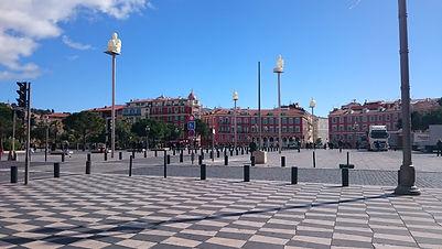 Massena square, Nice, France