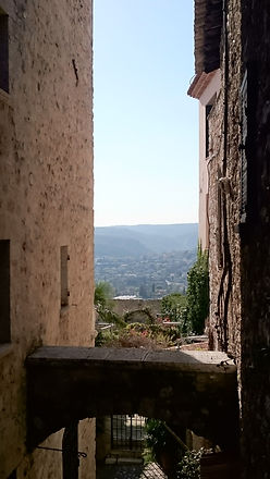 View from Rue Grande, Saint-Paul de Vence