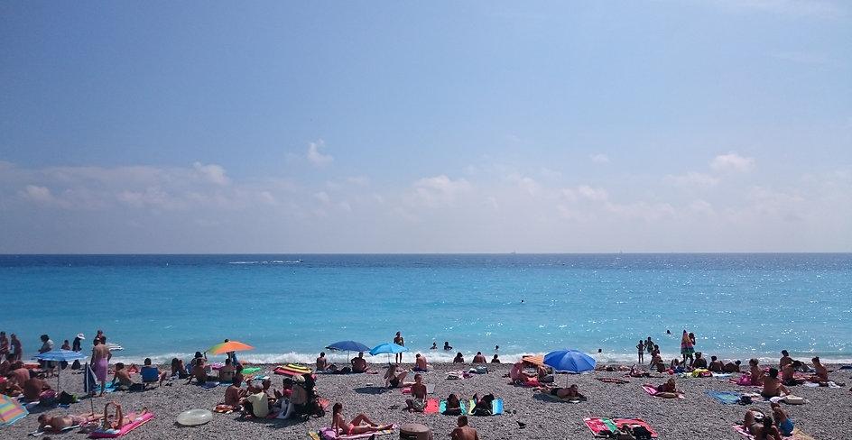 Baie des Anges, Niza, Francia