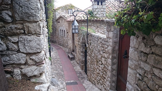 Pebbled, Eze, France