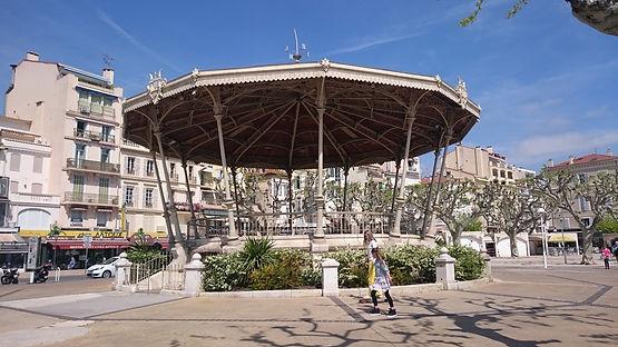 Allée de la liberté Charles de Gaule, Cannes, Francia