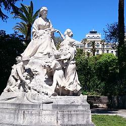 Queen Victoria statue, Cimiez, Nice