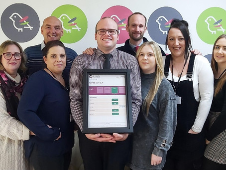 We have been rated 'Outstanding' for Caring by CQC!