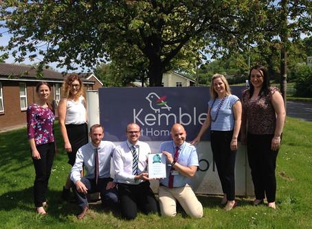 Prestigious Top20 homecare.co.uk Award for Kemble at Home