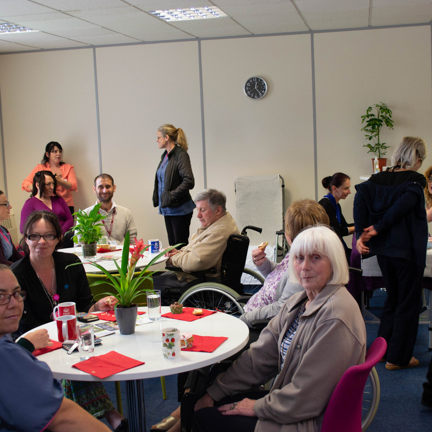 Kemble at Home well-being event