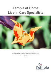 2021-05-13 Live-in care information broc