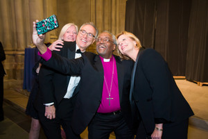 The Most Rev. Michael B. Curry snaps a selfie.