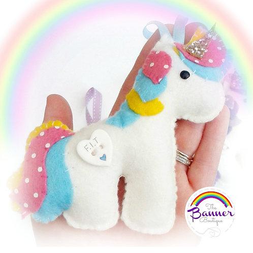 Personalised unicorn