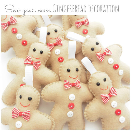 SYO gingerbread decorations