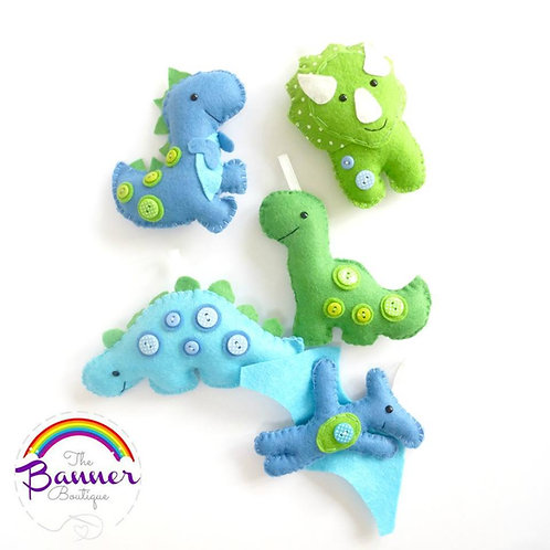 SYO Dinosaur garland (5 items)