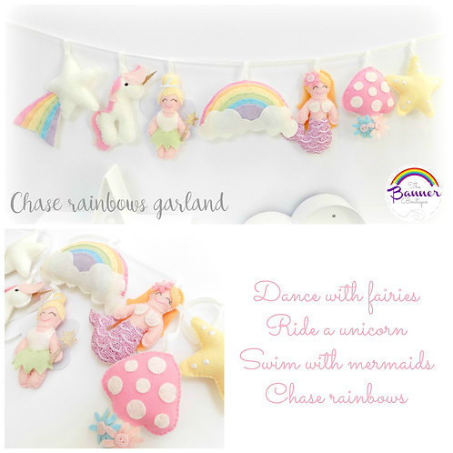 SYO Chase rainbows garland