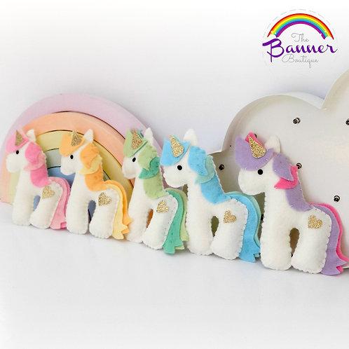 Pastel unicorn garland
