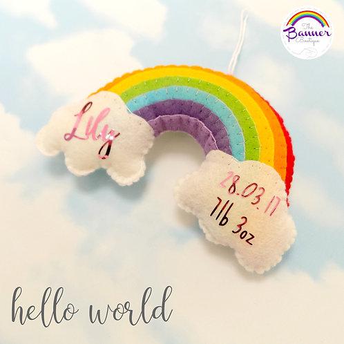 Rainbow birth details