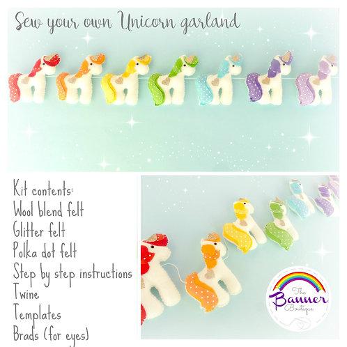 SYO Unicorn garland