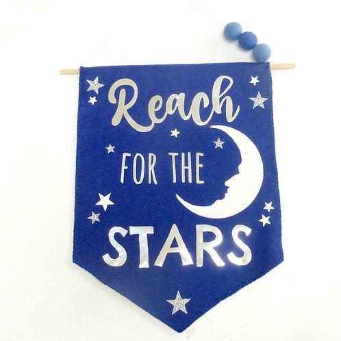 Reach for the stars flag