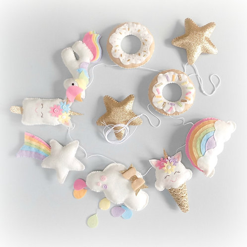 Unicorn Dreams garland