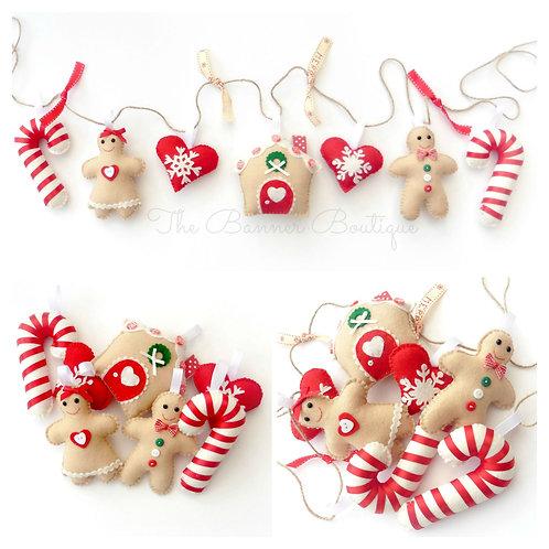 SYO Gingerbread garland