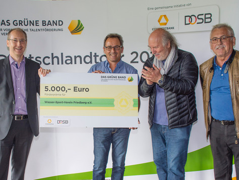 "WSV Friedberg - Preisträger ""Das Grüne Band"""