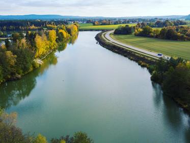 Neue Wasserskistrecke bei Schwandorf