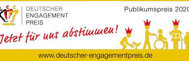 Nominierung Engagement-Preis