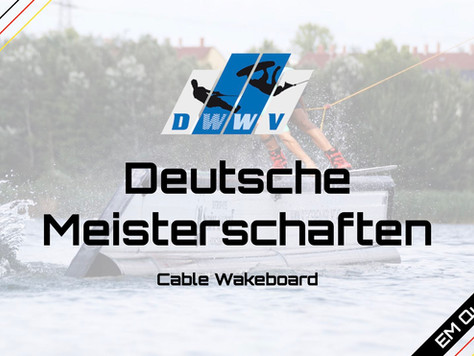 DM Wakeboard Cable - Mitteilung