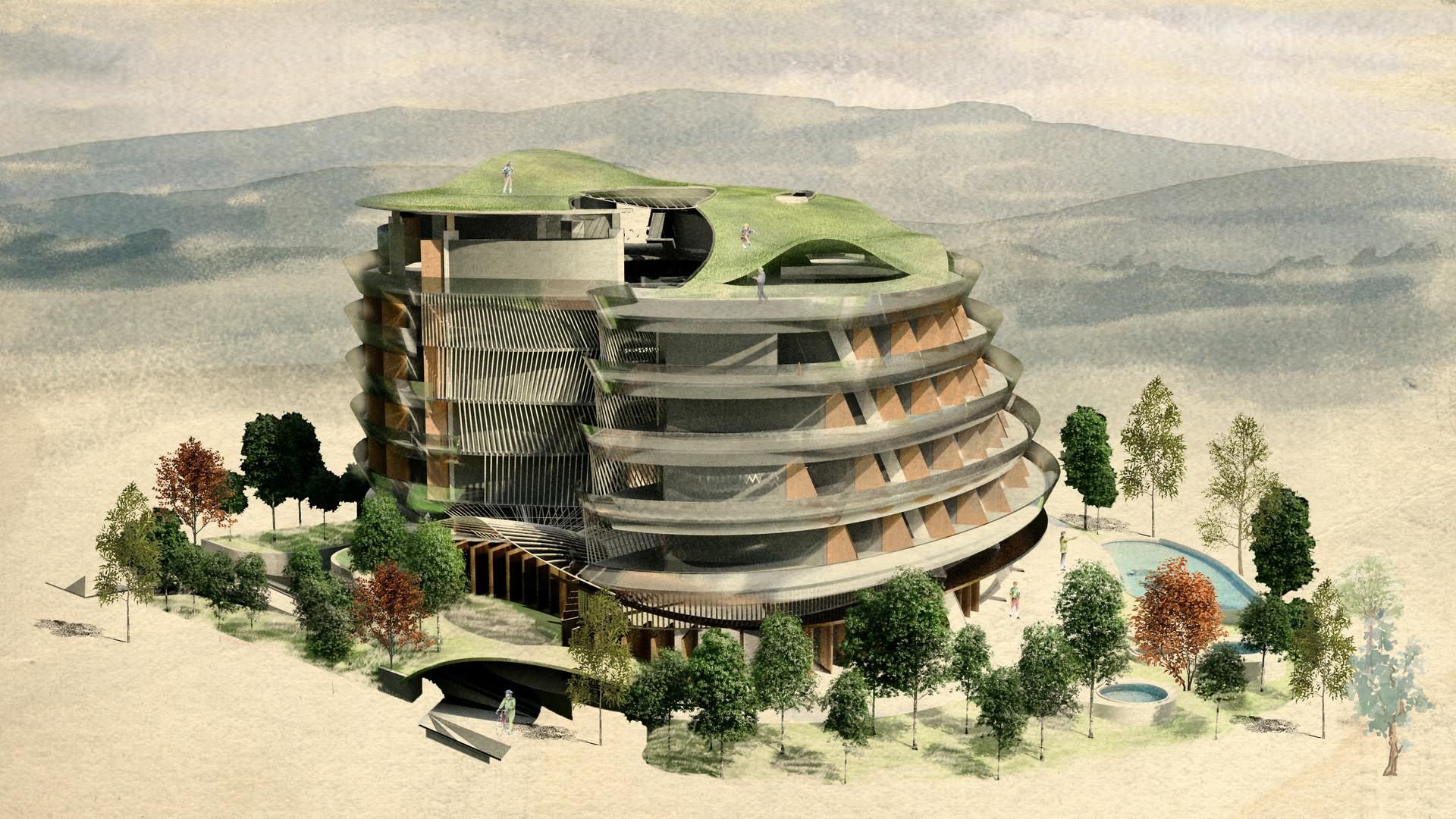 旅館概念設計