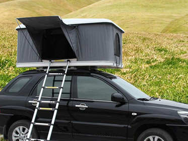 What is the feeling of sleeping in a roof tent?