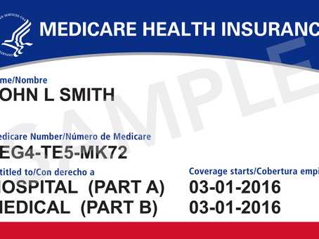 Are you using your new Medicare card?