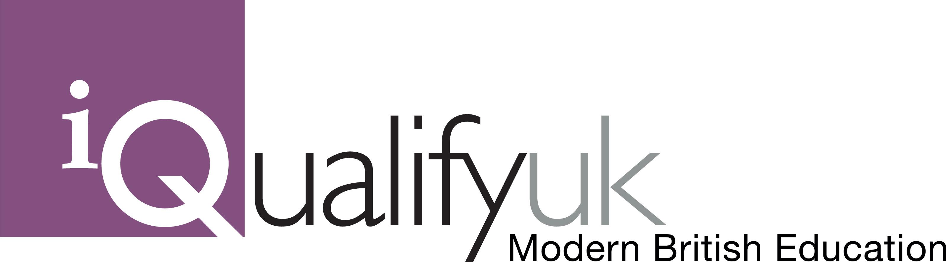 iQualify logo cmyk strap