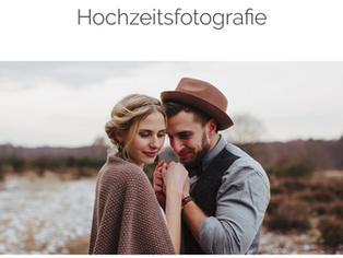 Neue Seite für meine Hochzeitsfotografie 'echt & lebendig'