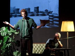 Stellwerck-Literaturbühne auf dem 'Umsonst & Draußen'-Festival
