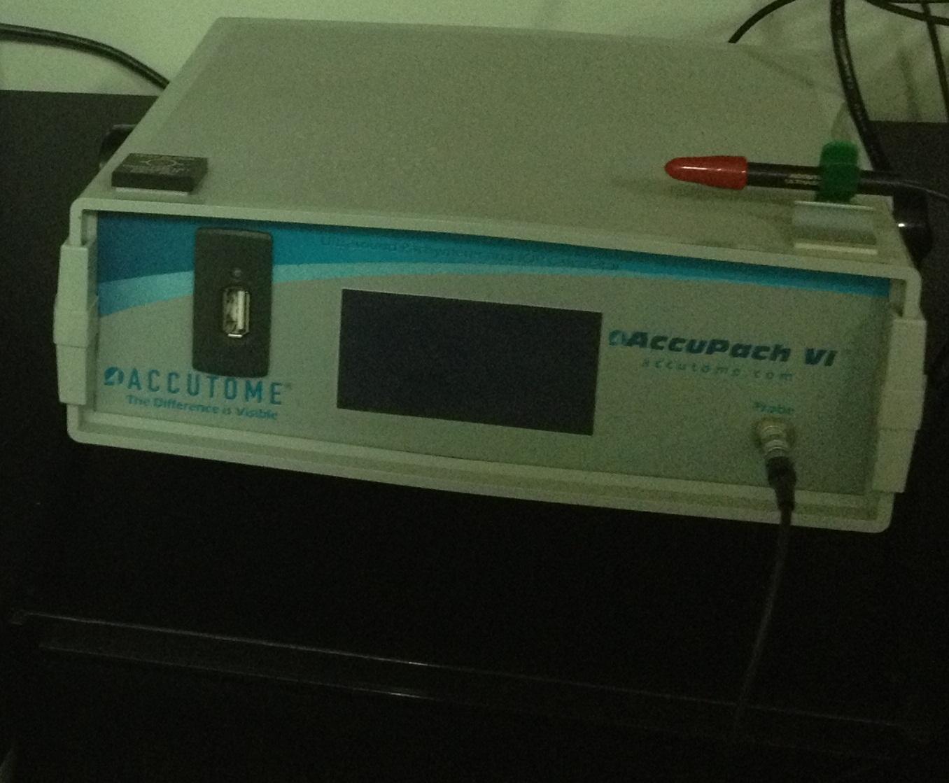 Paquímetro ultrassônico