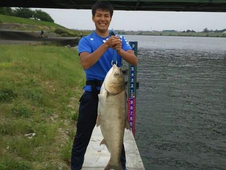 小谷くんがデッカイ魚釣りました!![葛飾区で産後骨盤矯正が得意な整骨院】