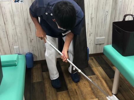 院内の清掃は怠りません![葛飾区で産後骨盤矯正が得意な整骨院】
