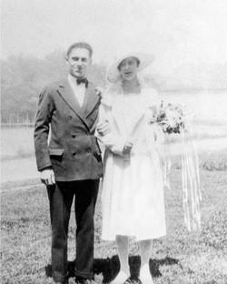 Old wedding photo