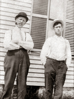 Photo of two brothers