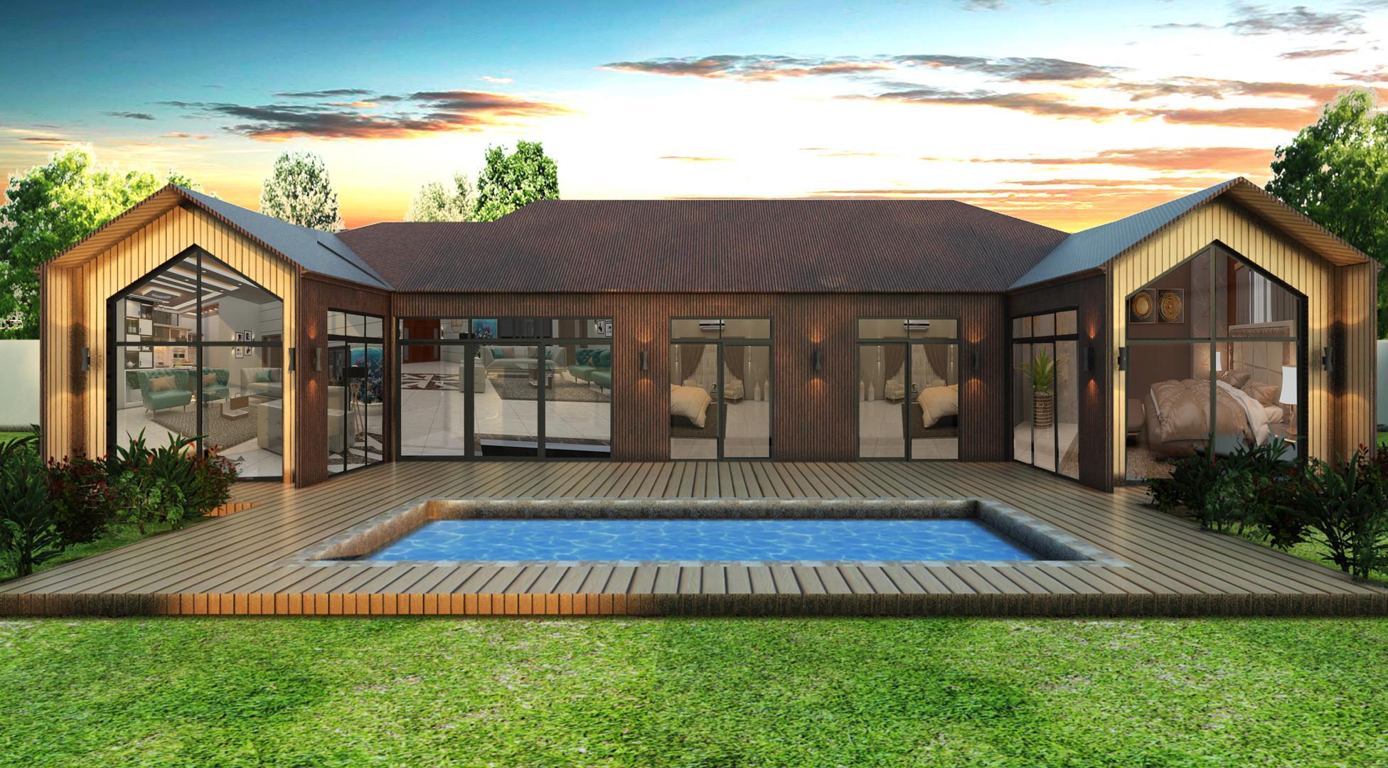 House Exterior Render Design 2