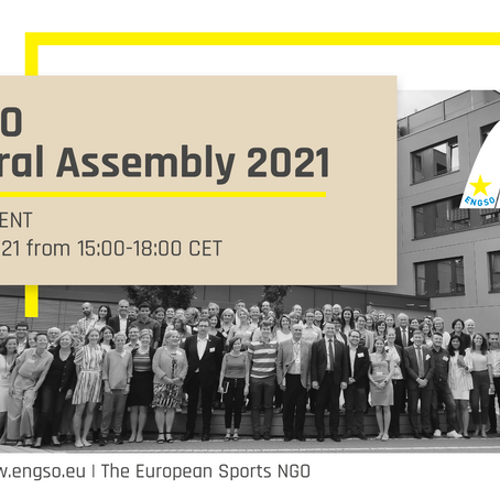 ENGSO General Assembly 2021 will be held online
