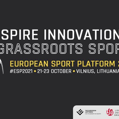 Registration open: European Sport Platform 2021