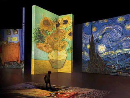 Van Gogh Alive – Starry, starry nights