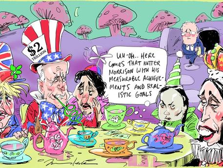 Australia's big play