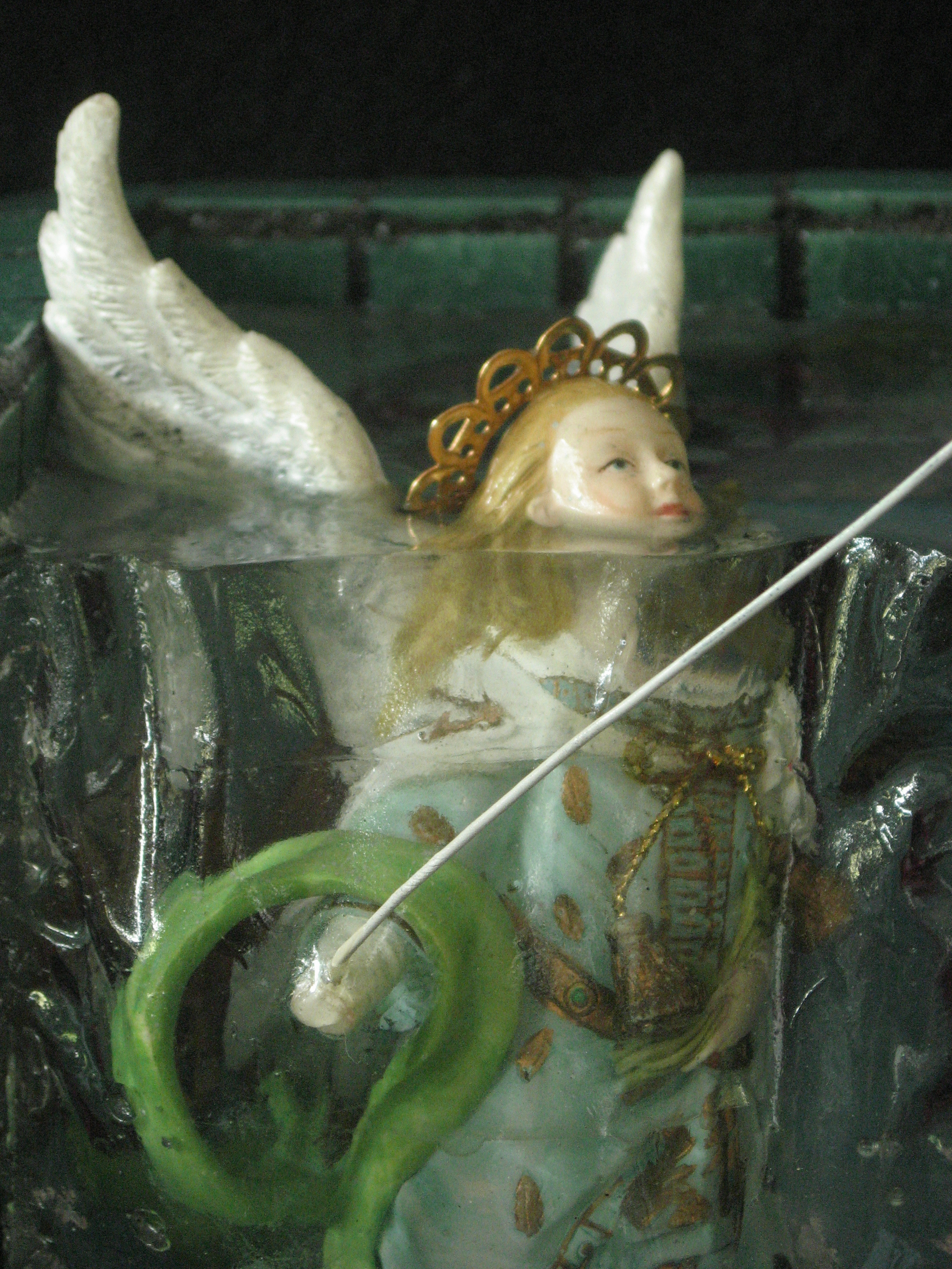 ESCAPE, close up of angel