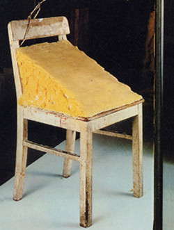 FAT CHAIR by Joseph Beuys